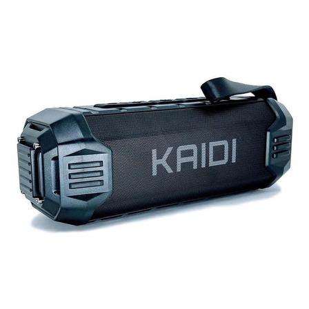 Caixa de som Kaidi KD-805 portátil com bluetooth  preta
