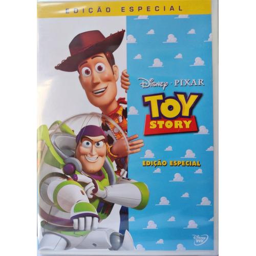 Dvd Lacrado Toy Story Edição Especial Disney