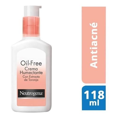 Crema Neutrogena Oil Free Humectante C/toronja 118 Ml