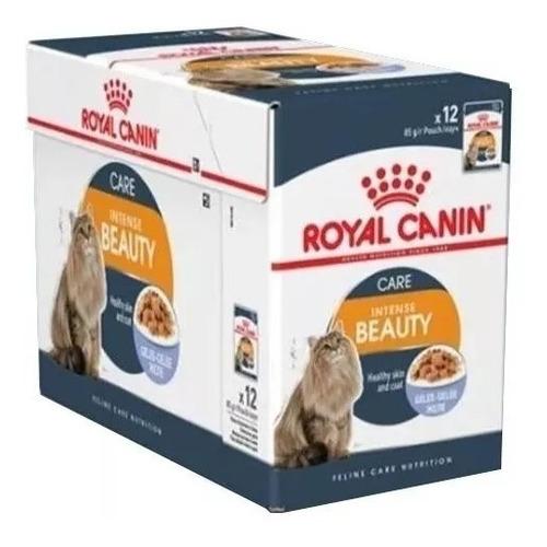 Pouch Royal Canin Intense Beauty Gato X 12 U Vet Juncal