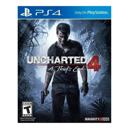 Uncharted 4: A Thief's End Standard Edition Sony PS4 Digital