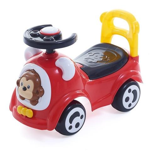 Buggy Carrito Auto Vehículo Deslizador Bocina Volante Gira