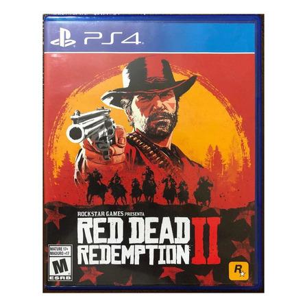 Red Dead Redemption 2 Standard Edition Físico PS4 Rockstar Games