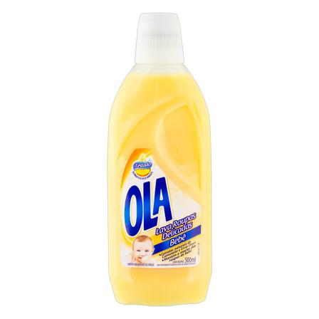 Sabão líquido Ola Roupas Delicadas Bebê frasco 500ml