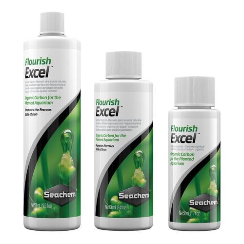 Seachem Flourish Excel 250ml Co2 Líquido Plantado Polypteram