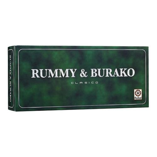 Juego de mesa Rummy & Burako Clásico Ruibal