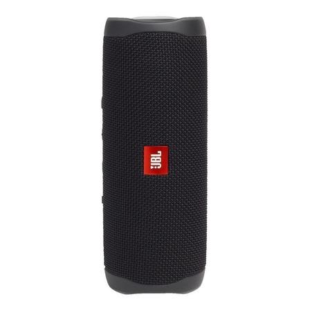 Caixa de som JBL Flip 5 portátil com bluetooth black matte
