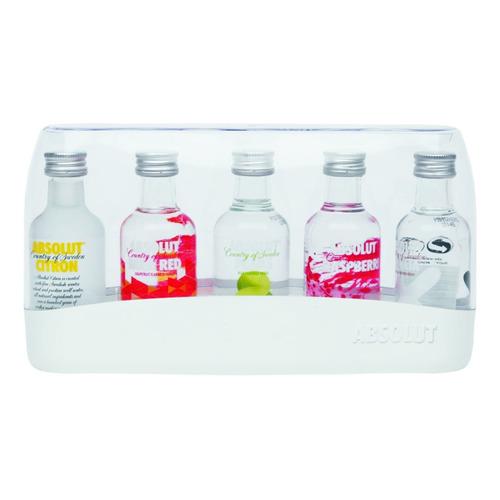 Vodka Absolut Mini X 5 Uni