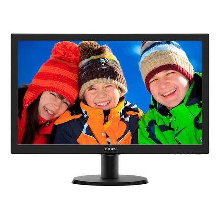 "Monitor Philips V 243V5LHSB LCD 23.6"" negro 110V/220V"