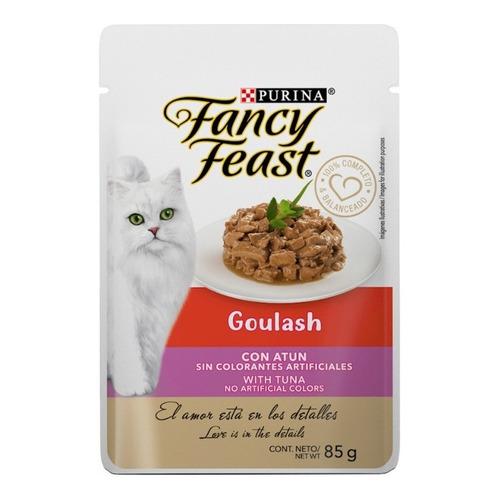 Fancy Feast Gato Adulto Goulash Receta Atún Sobre 85g