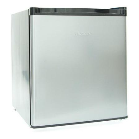 Refrigerador frigobar Hisense RR16D6ALX silver 43.2L 110V