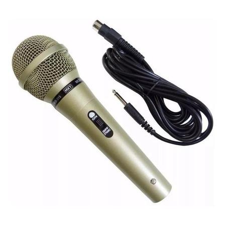 Microfone MXT MUD-515 dinâmico  unidirecional champanhe