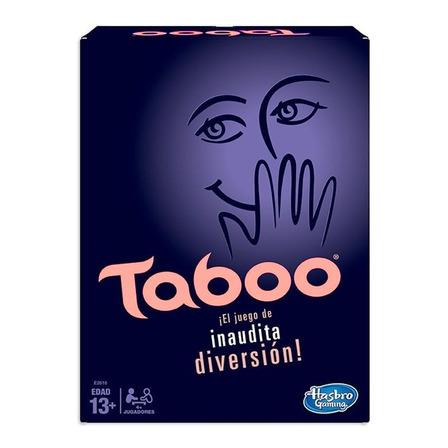 Juego de mesa Taboo Clásico Hasbro
