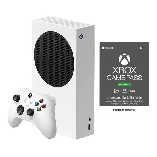 Console Xbox Series S Com Xbox Game Pass Ultimate 3 Meses