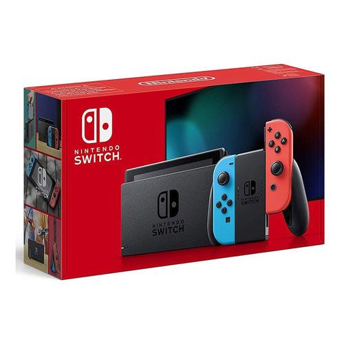 Consola Nintendo Switch 32gb Neon Blue & Red Joy-con