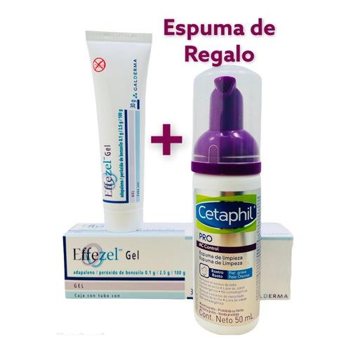 Effezel Gel 0.1% Tratamiento Para Acné, Piel Grasa.