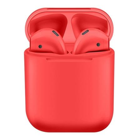 Auriculares inalámbricos i12 TWS rojo