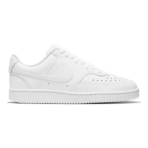 Zapatillas Nike Court Vision Low En Blanco