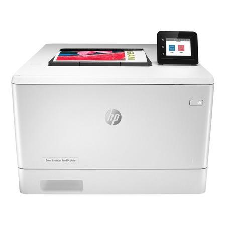 Impresora a color HP LaserJet Pro M454dw con wifi 220V - 240V blanca