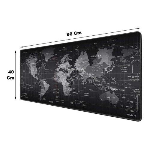 Mouse Pad Mapa 400 X 900 X 4 Mm Tapete Texturizado Pc Juegos Impermeable Anti Derrapante Gran Tamaño Escritorio Mesa