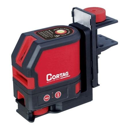 Nível laser de linhas cruz Cortag NLFX 15m