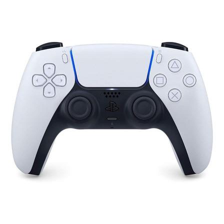 Control joystick inalámbrico Sony PlayStation DualSense CFI-ZCT1 white y black