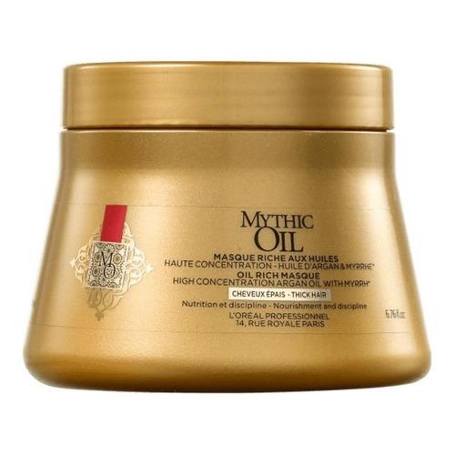 Mascarilla De Nutrición Mythic Oil Loreal 200ml