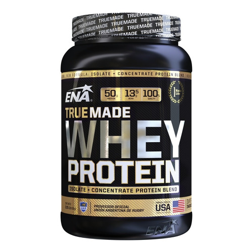 True Made Whey Protein 2,05lb Ena Concentrate+isolate