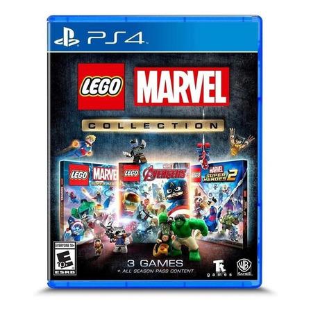 LEGO Marvel Collection Warner Bros. PS4  Físico