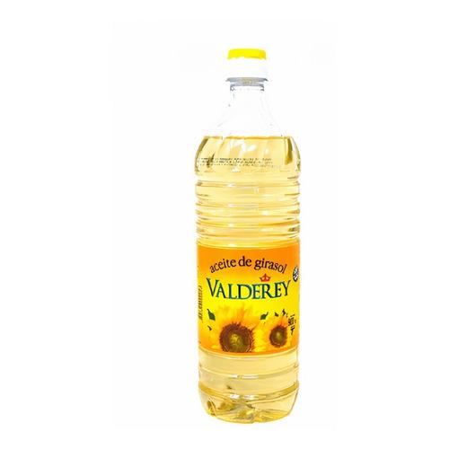 Aceite De Girasol Valderey X 900 Cc