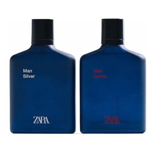 Zara, Cofre Fragancias Hombre: Uomo 100ml / Silver 100ml