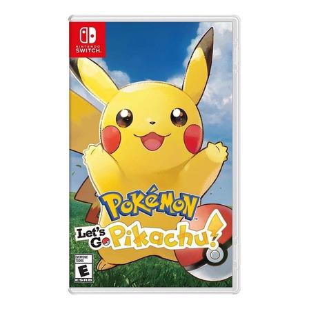 Pokémon: Let's Go, Pikachu! Nintendo Switch  Físico