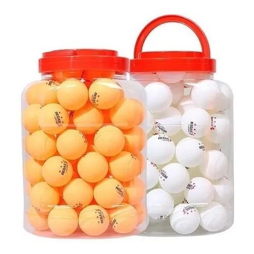 Pack De Pelotas De Ping Pong 60 Unidades