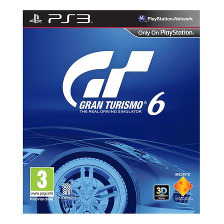 Gran Turismo 6 Sony PS3 Digital