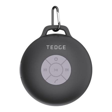 Bocina Tedge portátil con bluetooth CS3WTEDGE negra