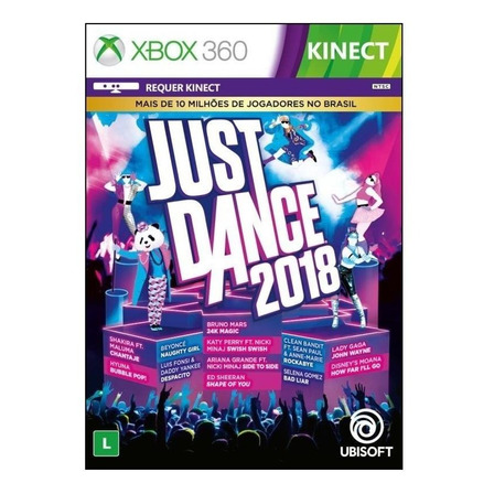 Just Dance 2018 Digital Xbox 360 Ubisoft