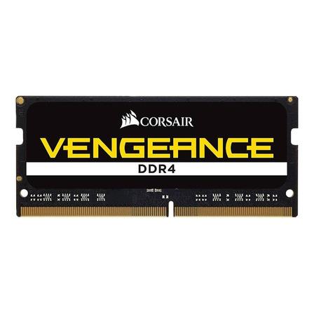 Memória RAM Vengeance color Preto  16GB 1x16GB Corsair CMSX16GX4M1A2666C18