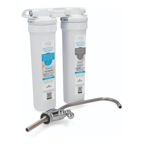 Filtro Purificador De Agua Bajo Mesada Dvigi Ultrafiltración