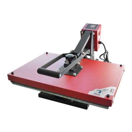 Plancha sublimadora manual ColorMake CM22-MAN4060 roja y negra 110V/220V