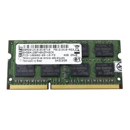 Memória RAM 4GB 1x4GB Smart SH564128FH8NZPHSCR