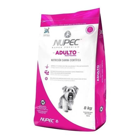 Alimento Nupec Nutrición Científica Raza Pequeña para perro adulto de raza pequeña sabor mix en bolsa de 8kg