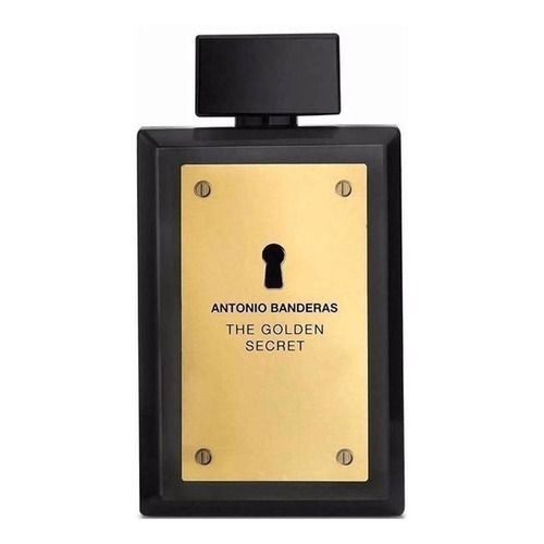 Antonio Banderas The Golden Secret EDT 100ml para  hombre
