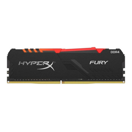 Memória RAM Fury DDR4 RGB color Preto  8GB 1x8GB HyperX HX432C16FB3A/8