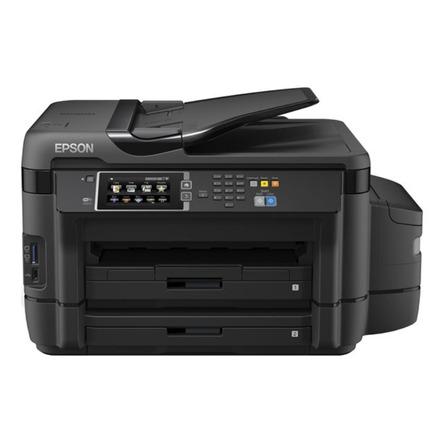 Impresora a color multifunción Epson EcoTank L1455 con wifi 110V/220V negra