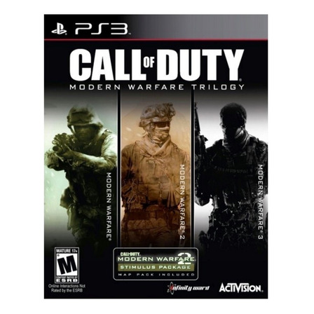 Call of Duty: Modern Warfare Trilogy Activision PS3 Digital