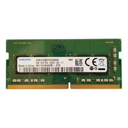 Memória RAM color Verde  8GB 1x8GB Samsung M471A1K43DB1-CTD