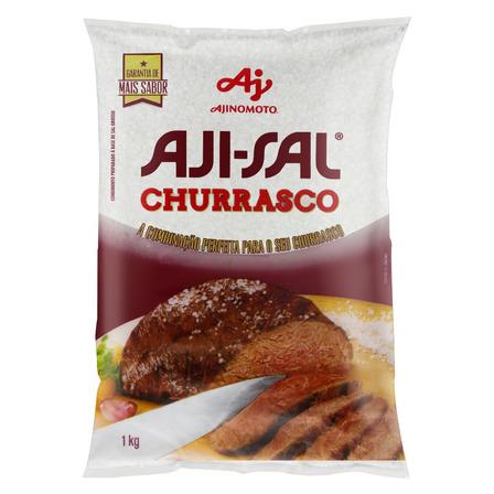 Sal grosso Aji-Sal em pacote sem glúten 1kg