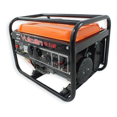 Gerador portátil Vulcan VG3100 3100W monofásico com tecnologia AVR