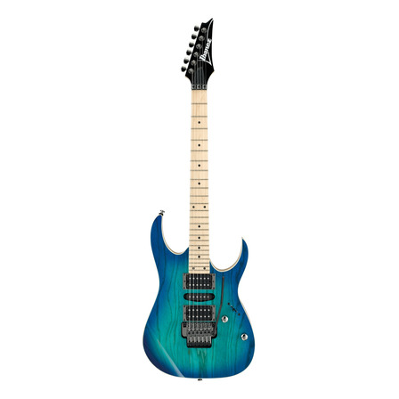 Guitarra eléctrica Ibanez RG Standard RG370AHMZ blue moon burst con diapasón de arce