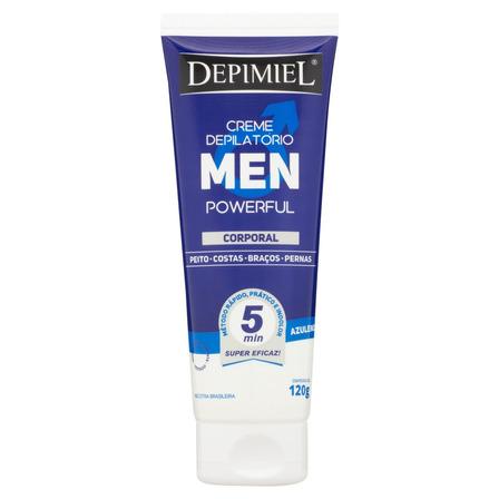 Creme depilatório Depimiel Men Powerful corporal 120g